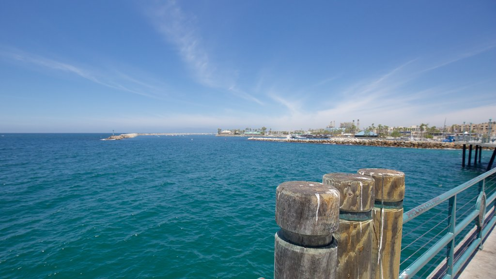 Redondo Beach featuring a coastal town and general coastal views