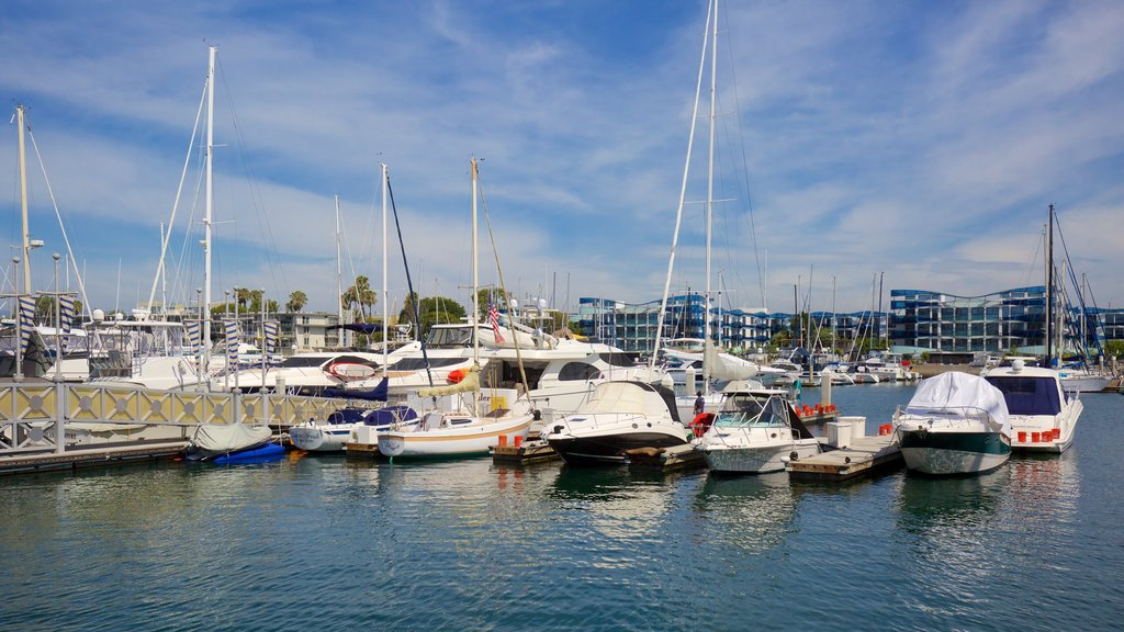 Marina del Rey which includes boating and a marina