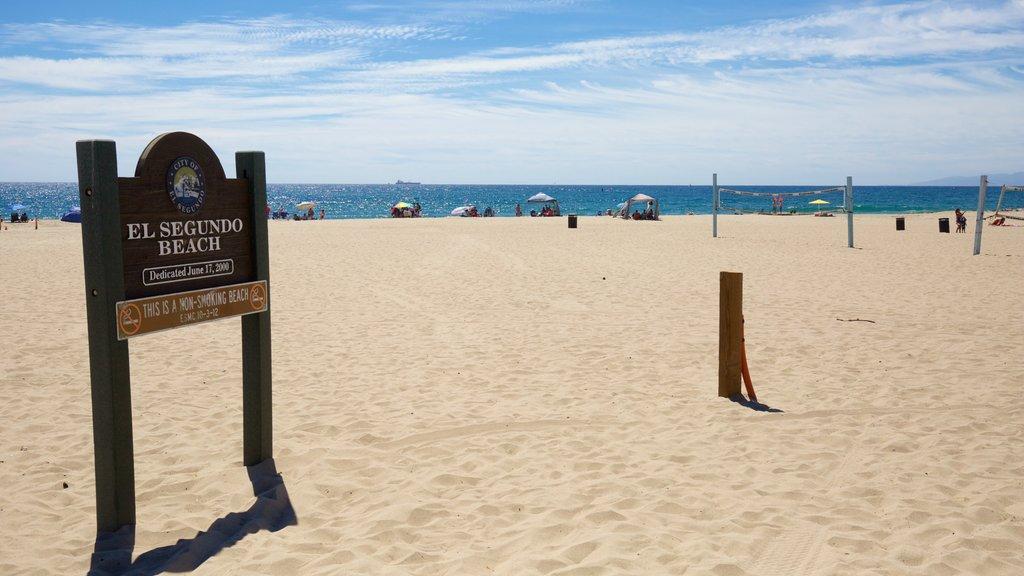 El Segundo showing a beach