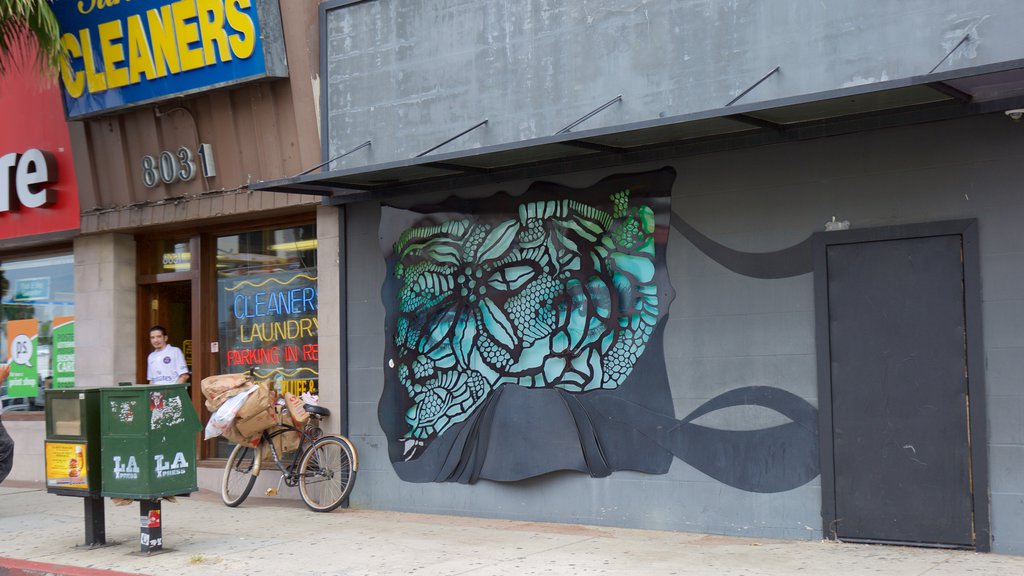 West Hollywood showing outdoor art