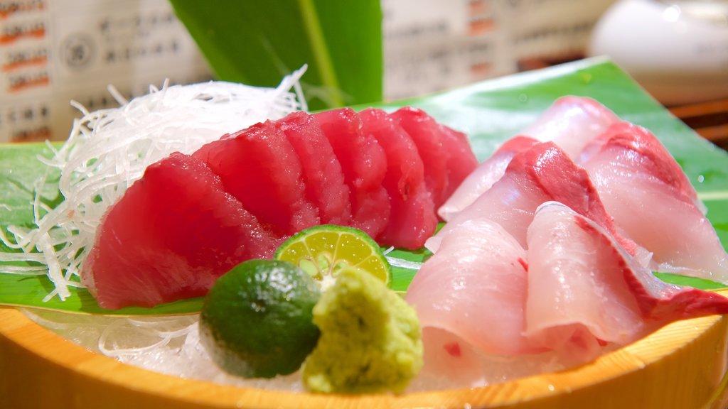 Ishigaki showing food