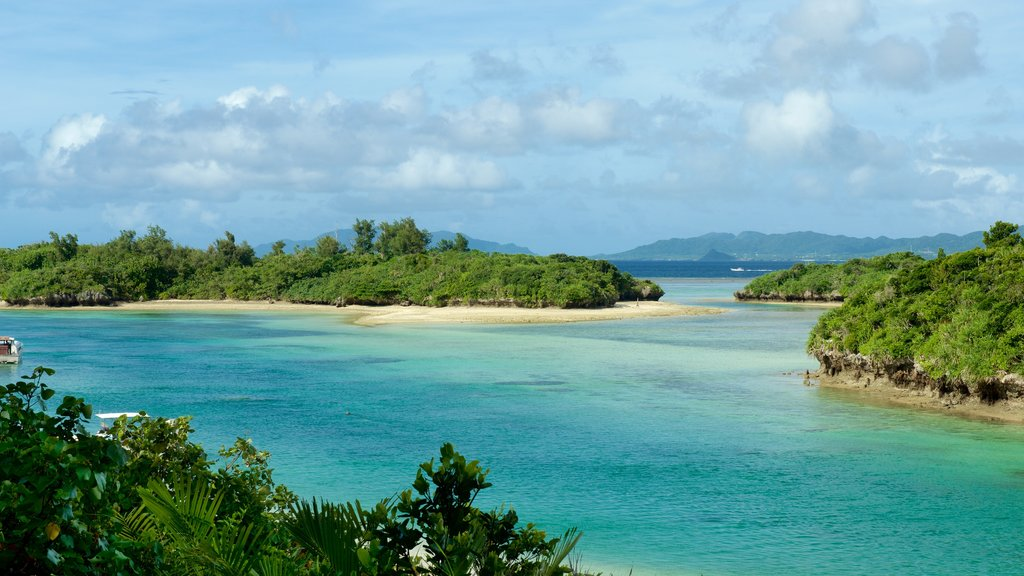 Ishigaki which includes general coastal views and island views