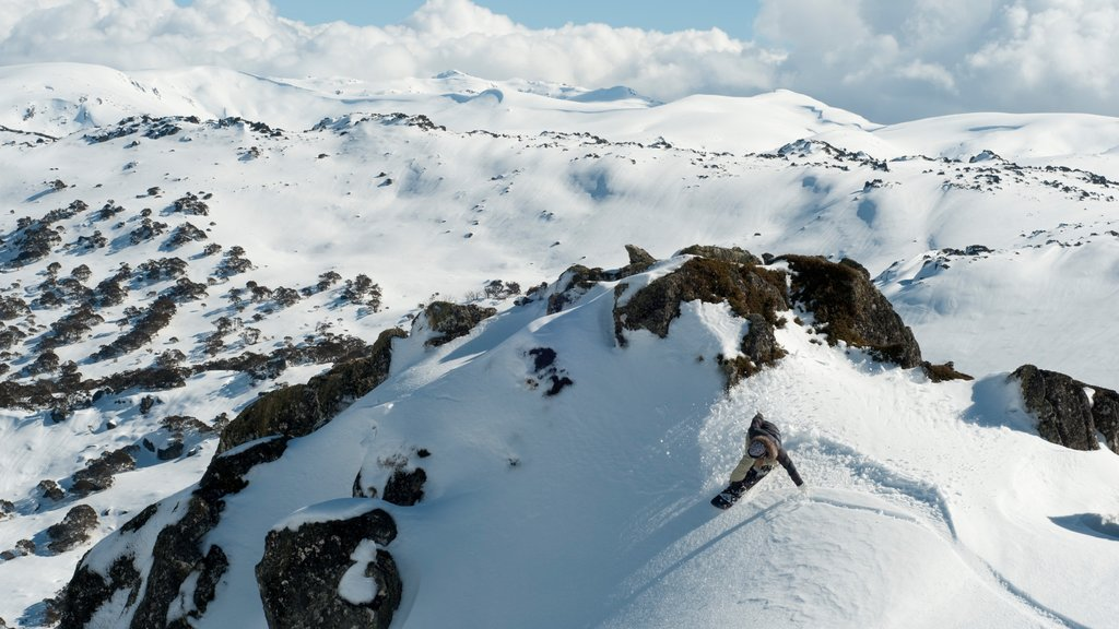 Perisher Ski Resort featuring mountains and snow