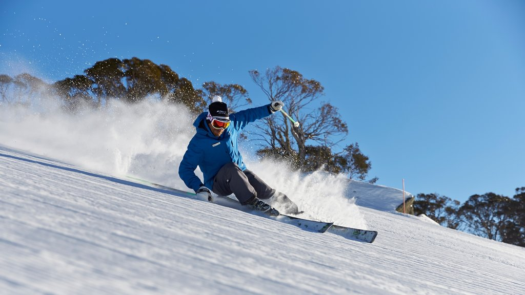 Perisher Ski Resort featuring snow skiing and snow