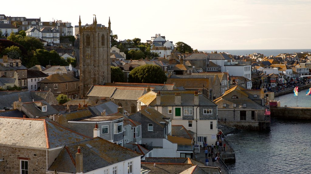 St Ives showing general coastal views, a coastal town and a house