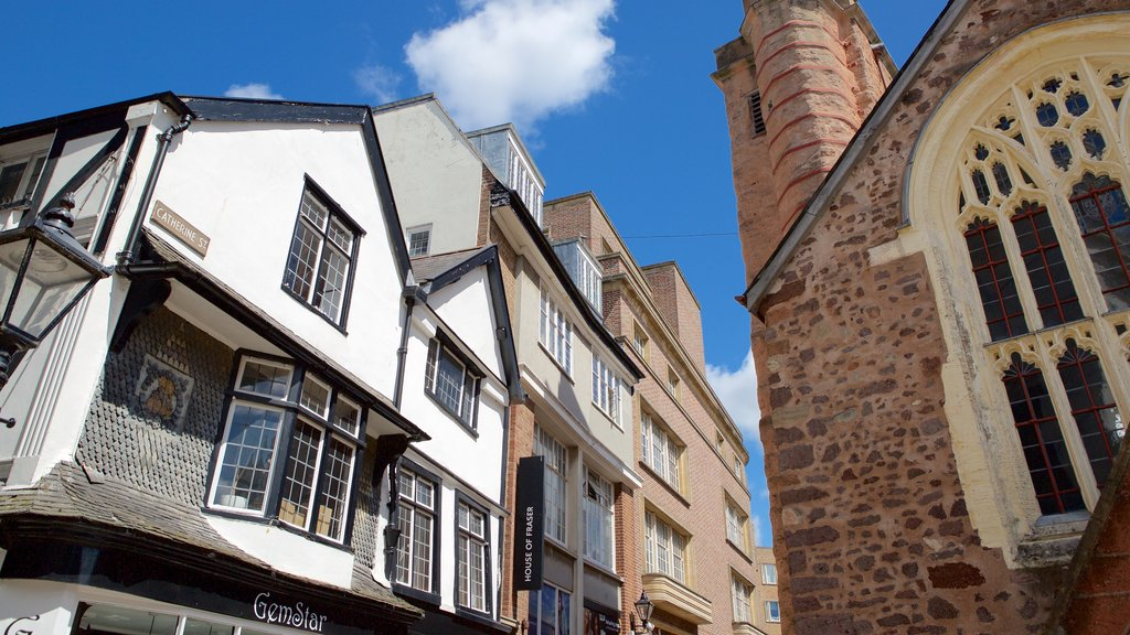 Exeter which includes heritage architecture