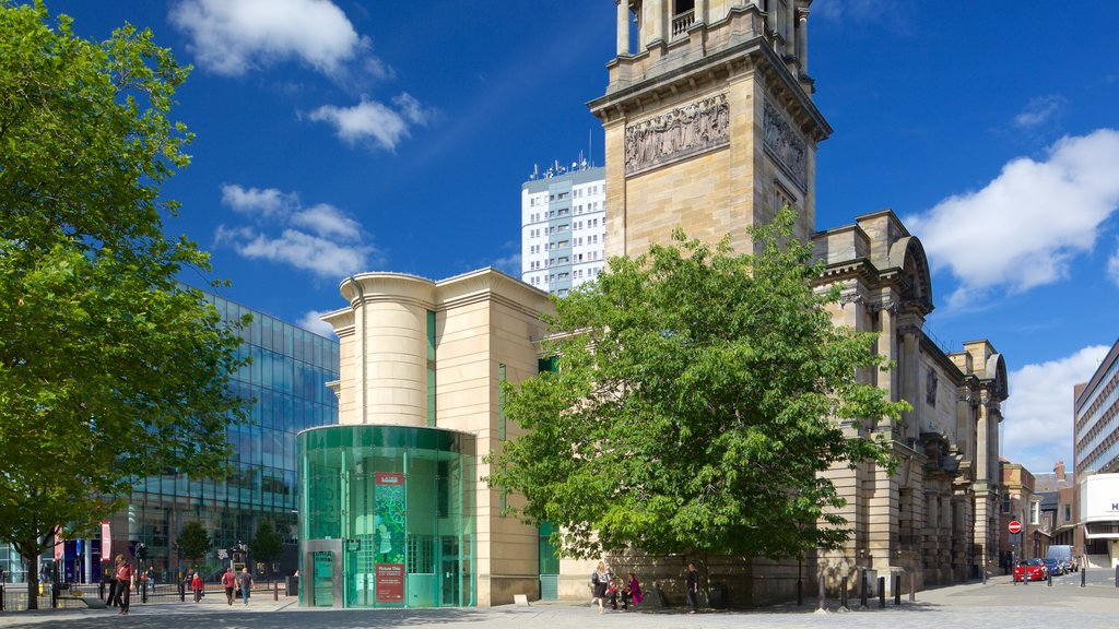 Laing Art Gallery Materials which includes heritage architecture, street scenes and city views