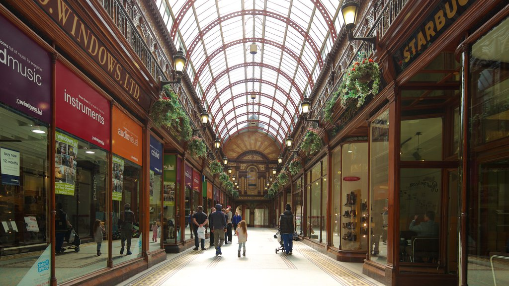 Central Arcade featuring interior views, a city and shopping