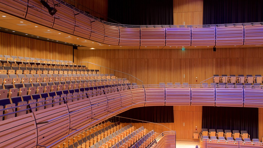 Sage Gateshead showing theater scenes and interior views
