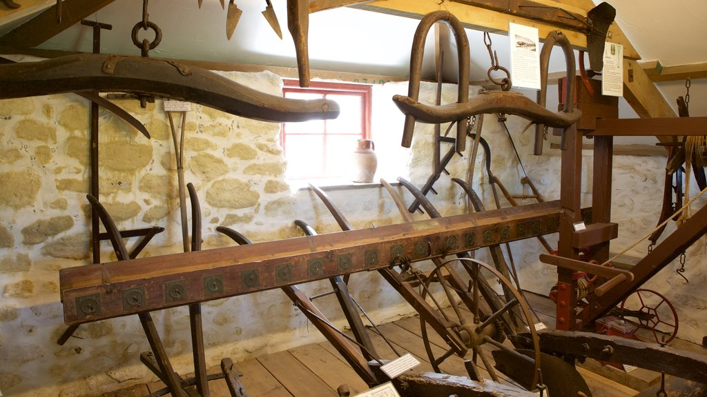 Wayside Museum showing interior views