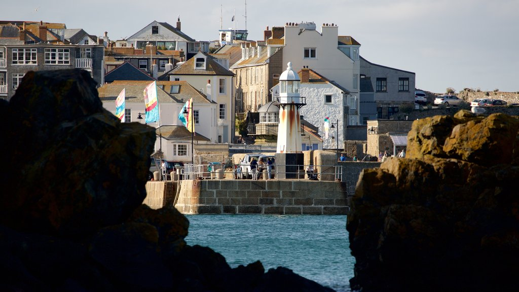 St Ives featuring general coastal views and a coastal town