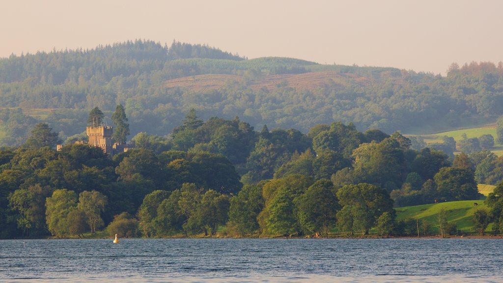 Ambleside featuring a lake or waterhole and forest scenes