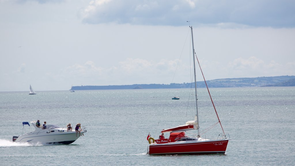 Exmouth which includes boating and general coastal views