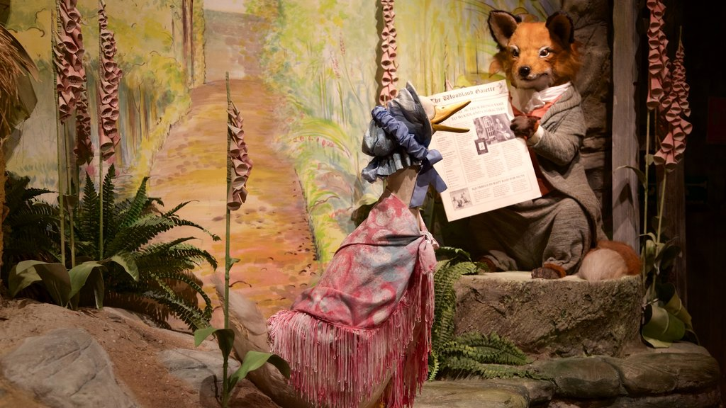 World of Beatrix Potter featuring animals