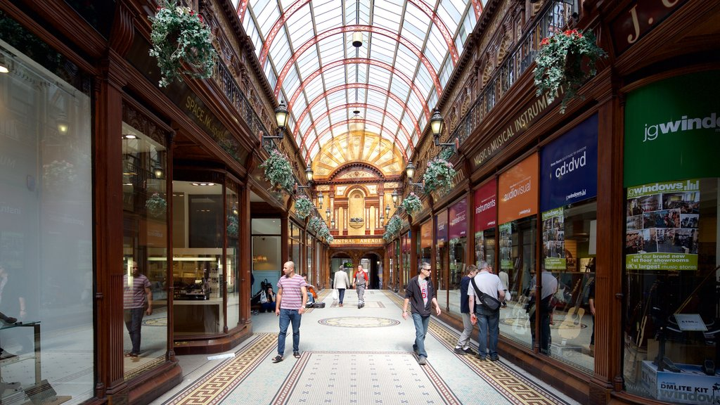 Central Arcade featuring interior views and shopping