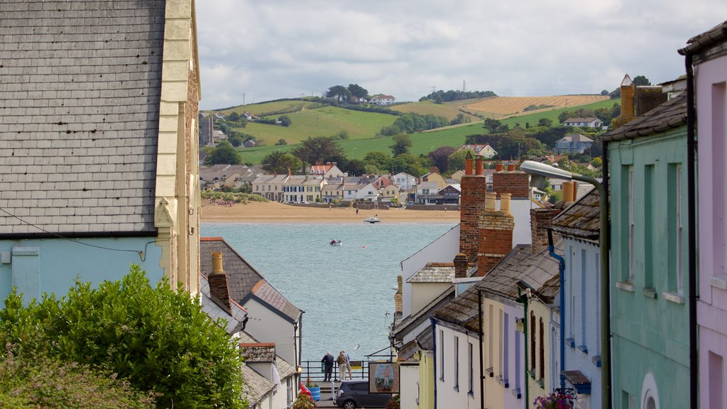 Devon featuring general coastal views and a small town or village