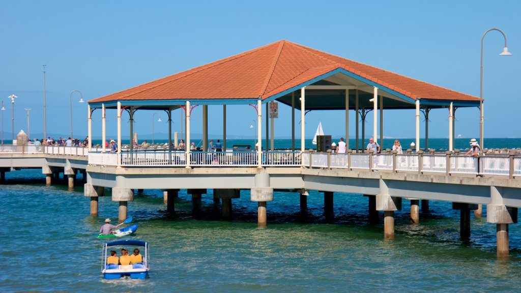 Redcliffe which includes general coastal views as well as a small group of people