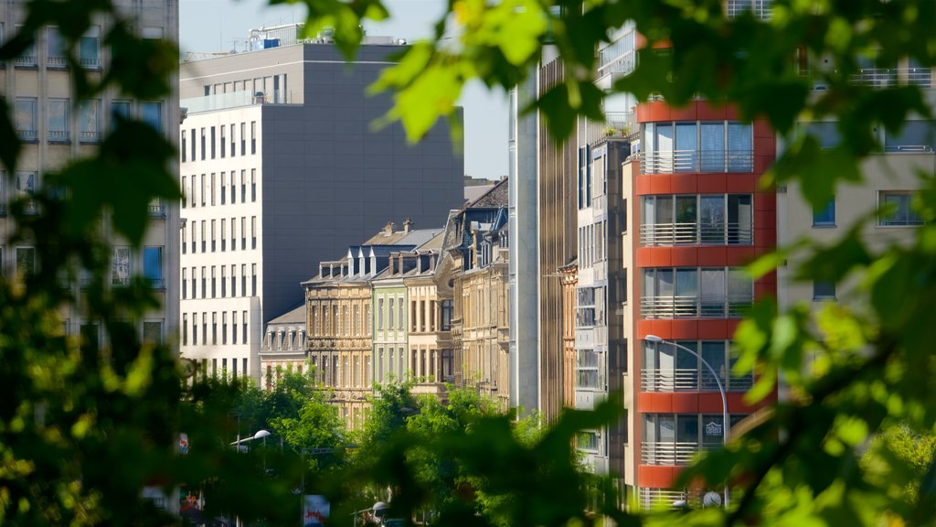 Luxembourg showing a city