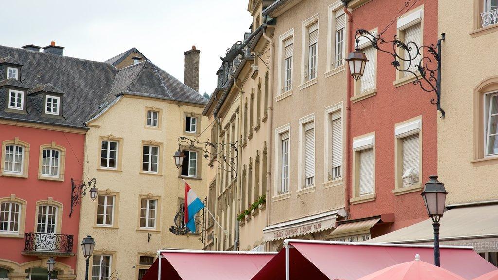 Echternach which includes heritage architecture