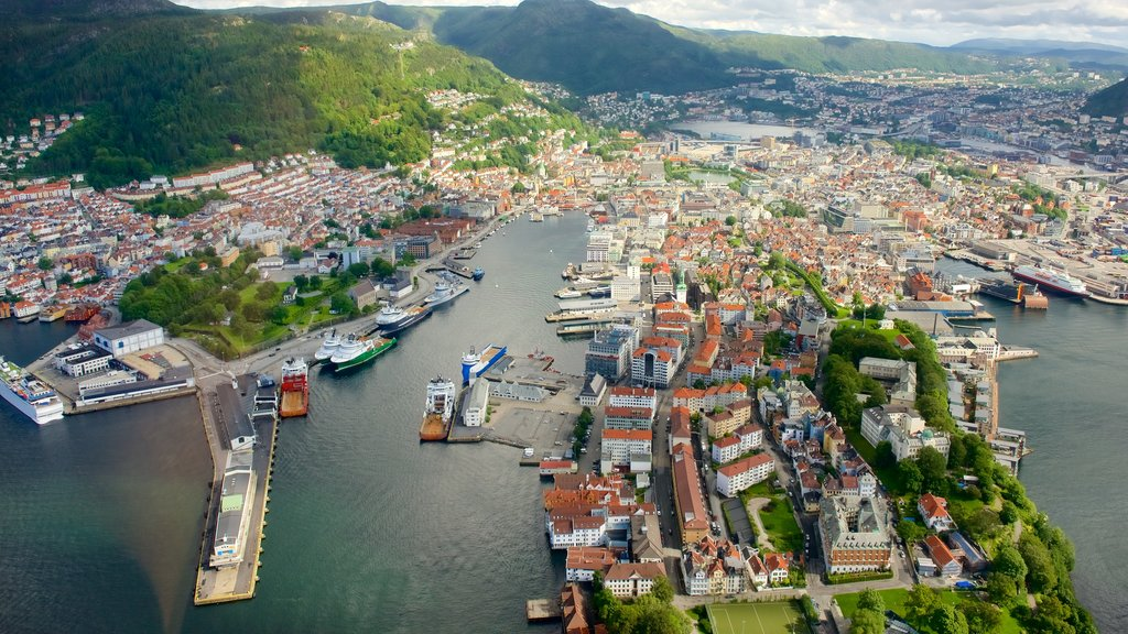 Bergen which includes a city