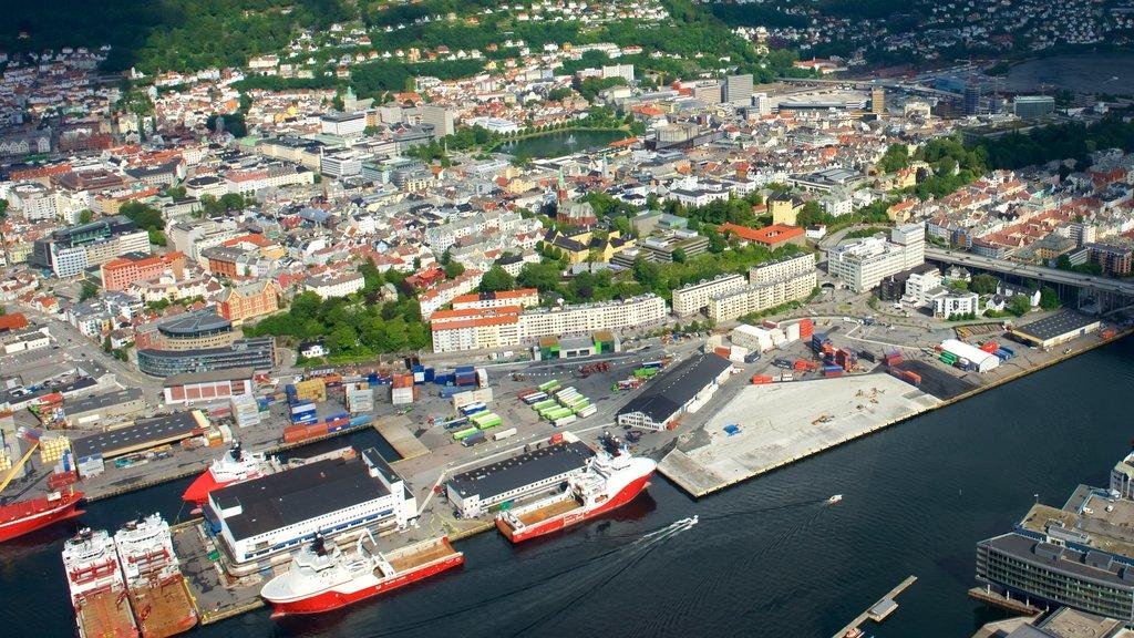 Bergen showing a city