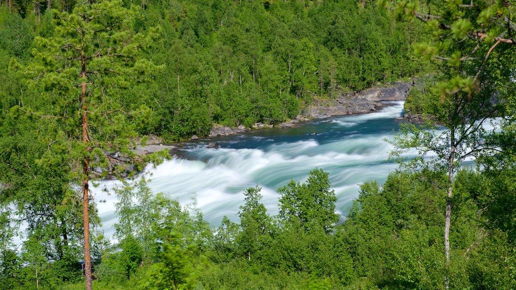 Maalselvfossen Waterfall