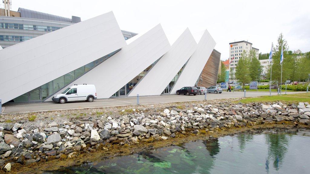 Polaria which includes modern architecture