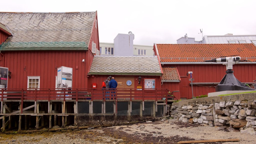 Polar Museum featuring a small town or village