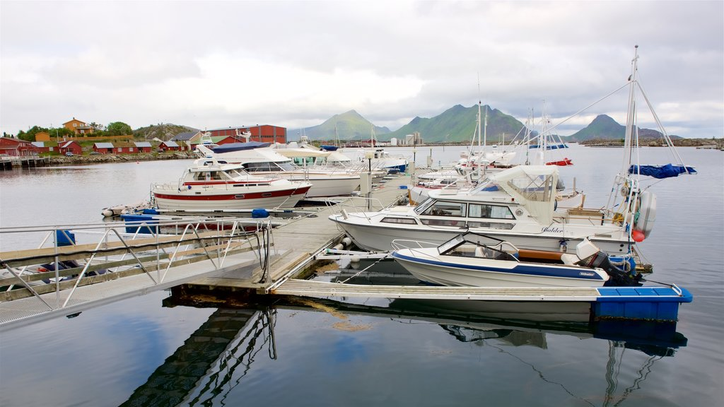 Northern Norway featuring a marina