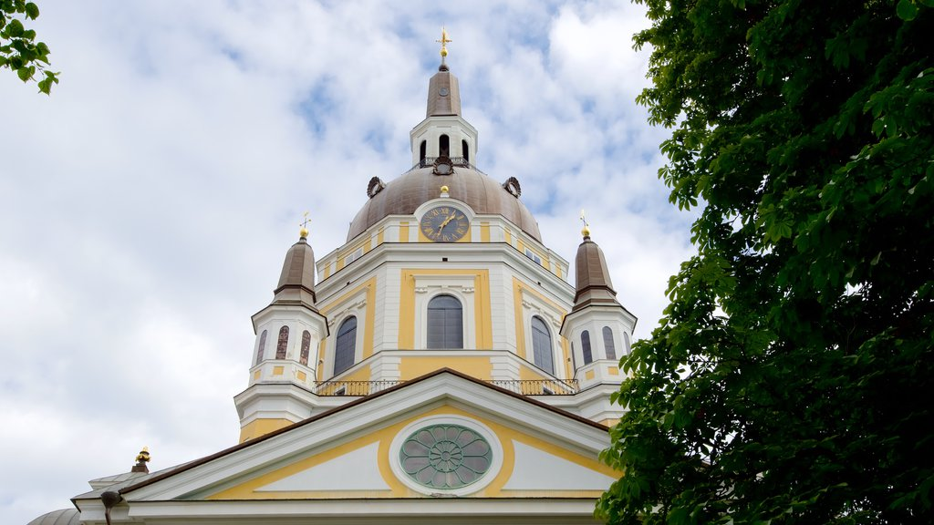 Katarina Church featuring a church or cathedral, heritage architecture and religious elements