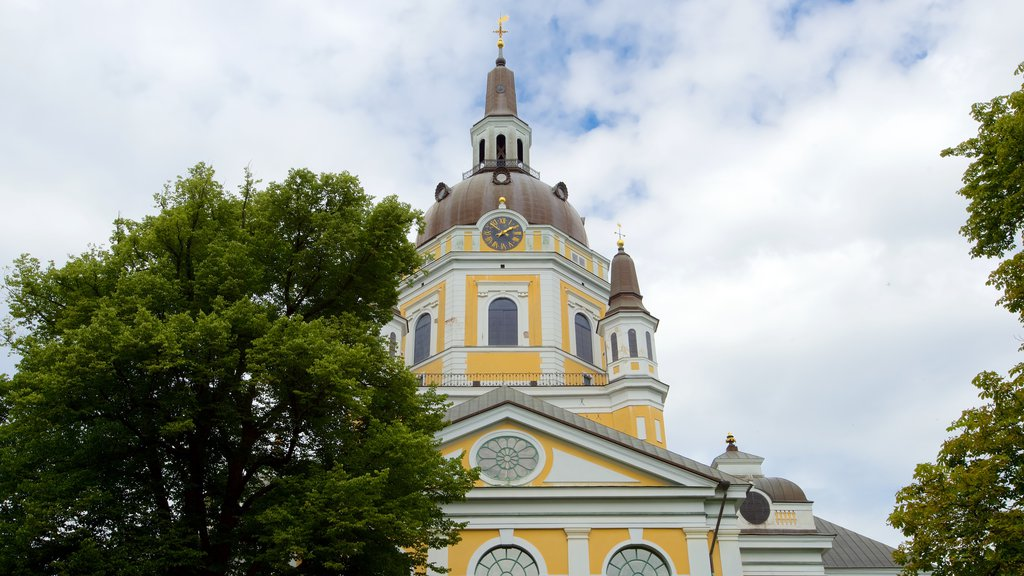 Katarina Church which includes religious aspects, a church or cathedral and heritage architecture