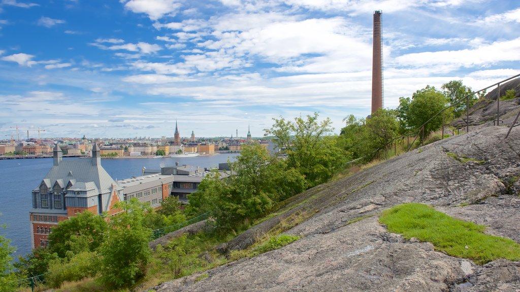 Parque Skinnarvik ofreciendo una ciudad
