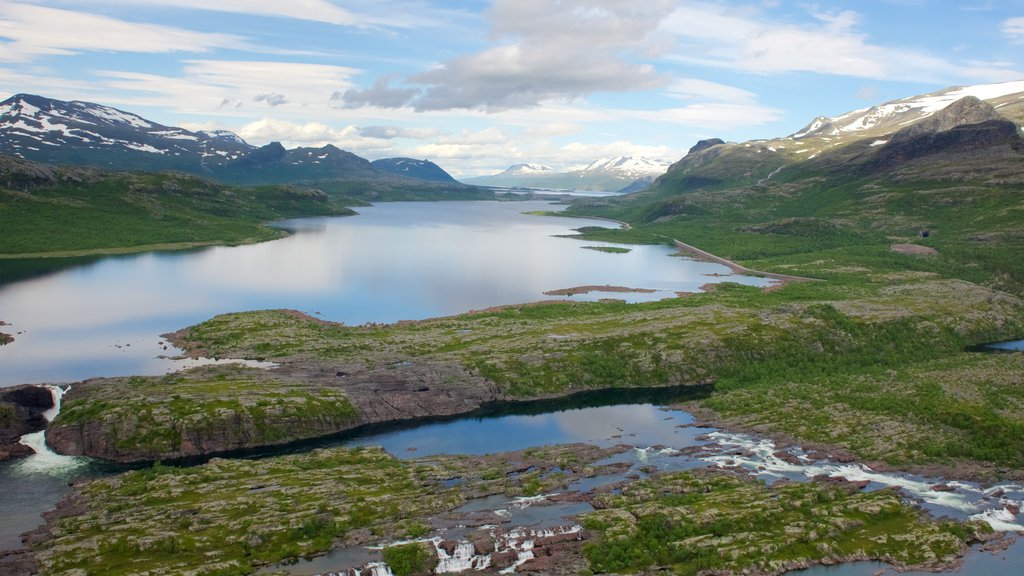 Stora Sjofallet National Park which includes a river or creek