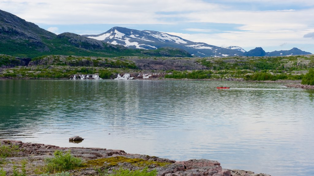 Stora Sjofallet National Park which includes a lake or waterhole