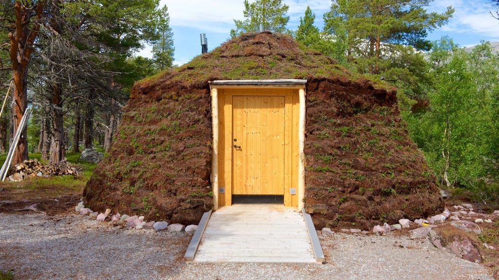 Parque Nacional de Stora Sjofallet ofreciendo una casa