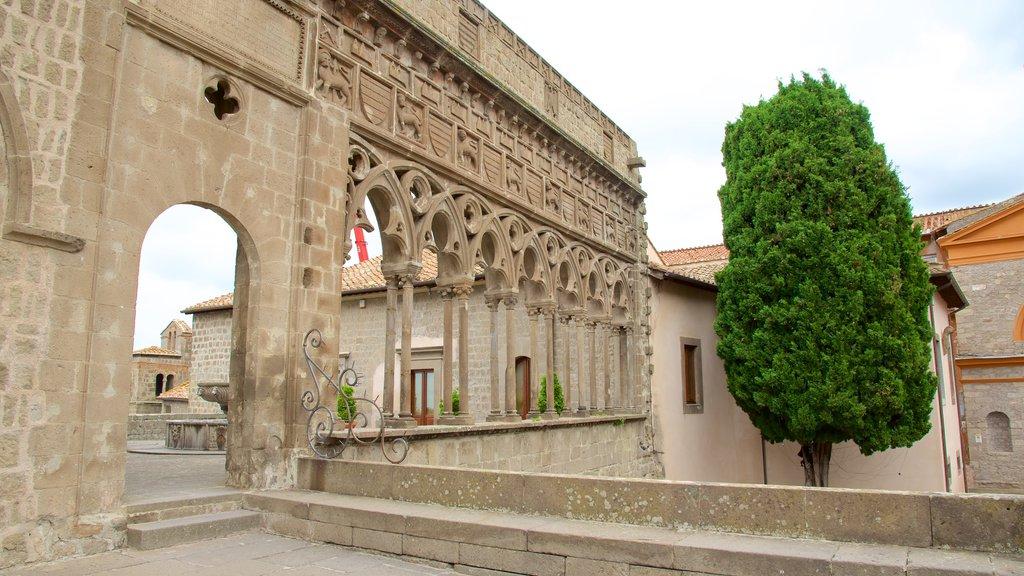 Viterbo ofreciendo patrimonio de arquitectura