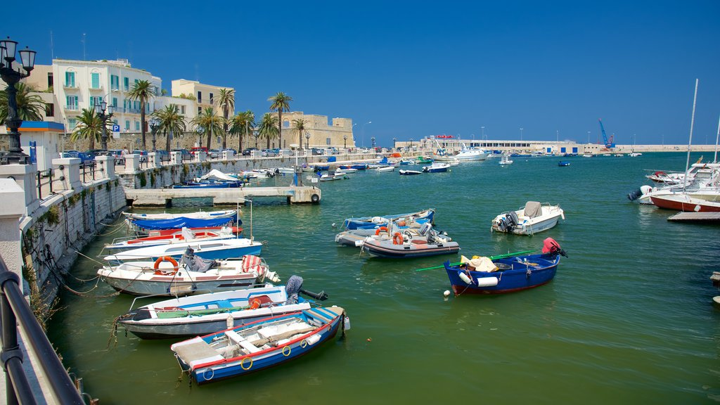 Bari Harbor which includes a bay or harbor