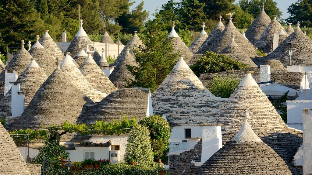 Alberobello which includes a city