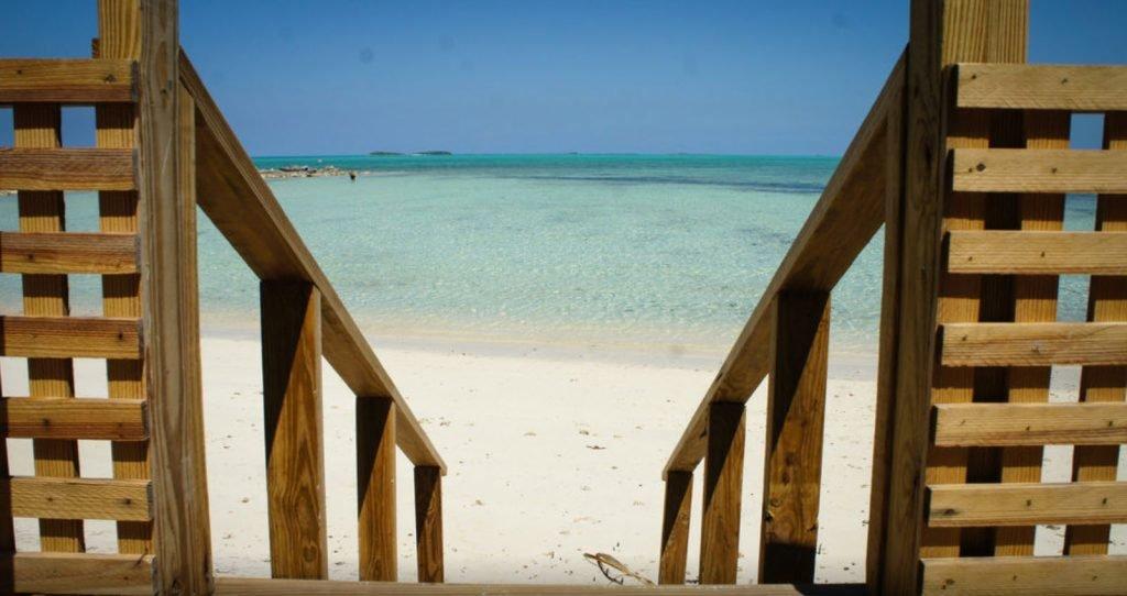 Andros Town auf den Bahamas