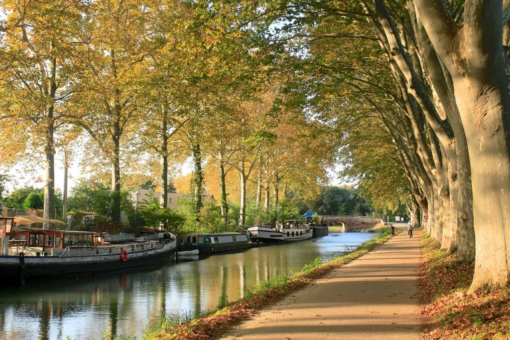 Canal Du Midi in Toulouse
