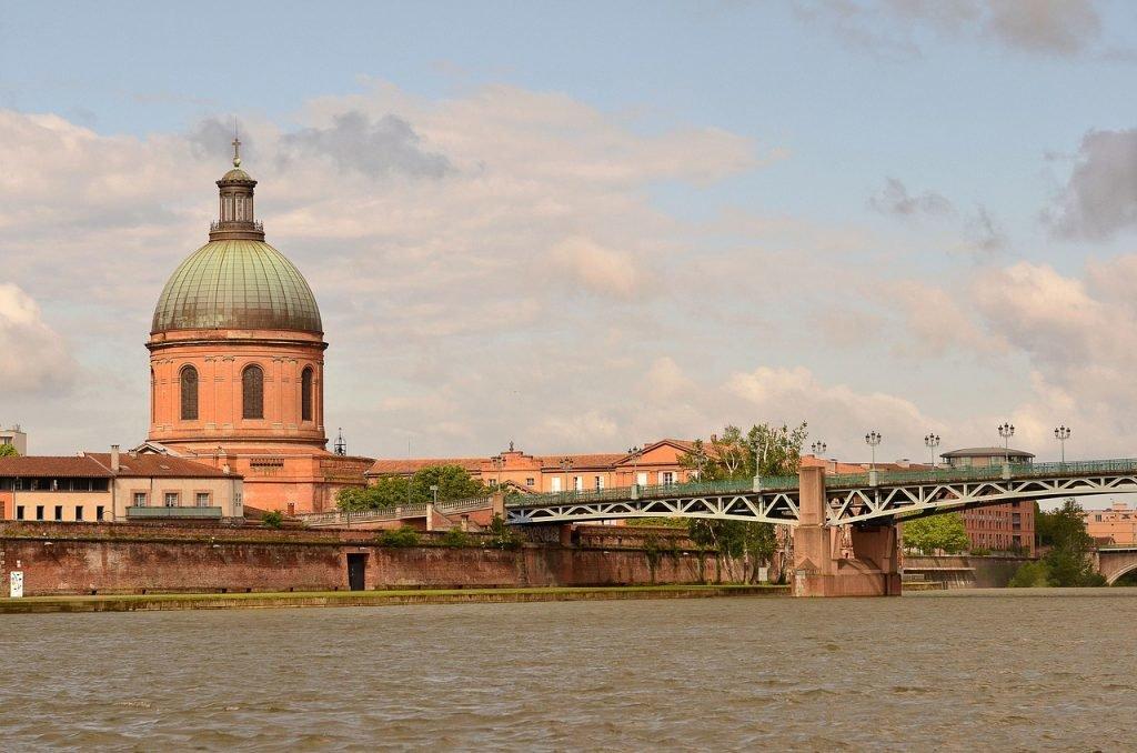 Pont Saint Pierre in Toulouse