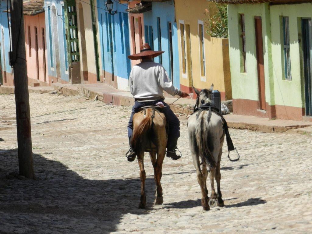 Viñales auf Kuba mit dem Pferd erkunden