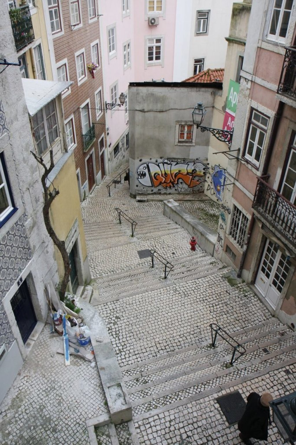 Treppen in Lissabon