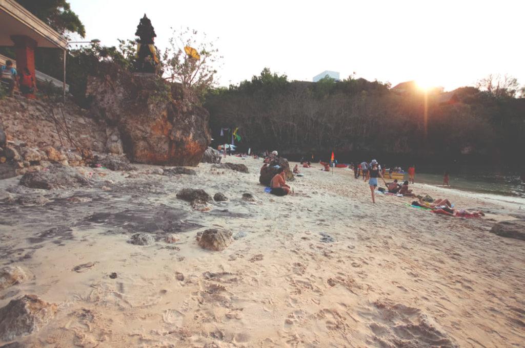 Uluwatu Beach auf Bali