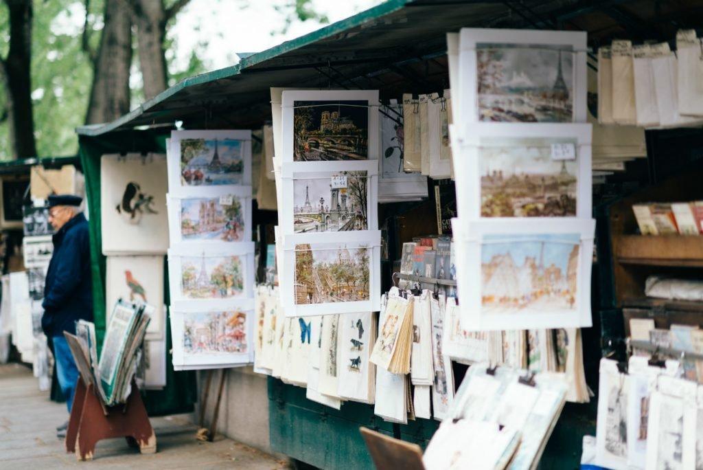Flohmarkt in Paris