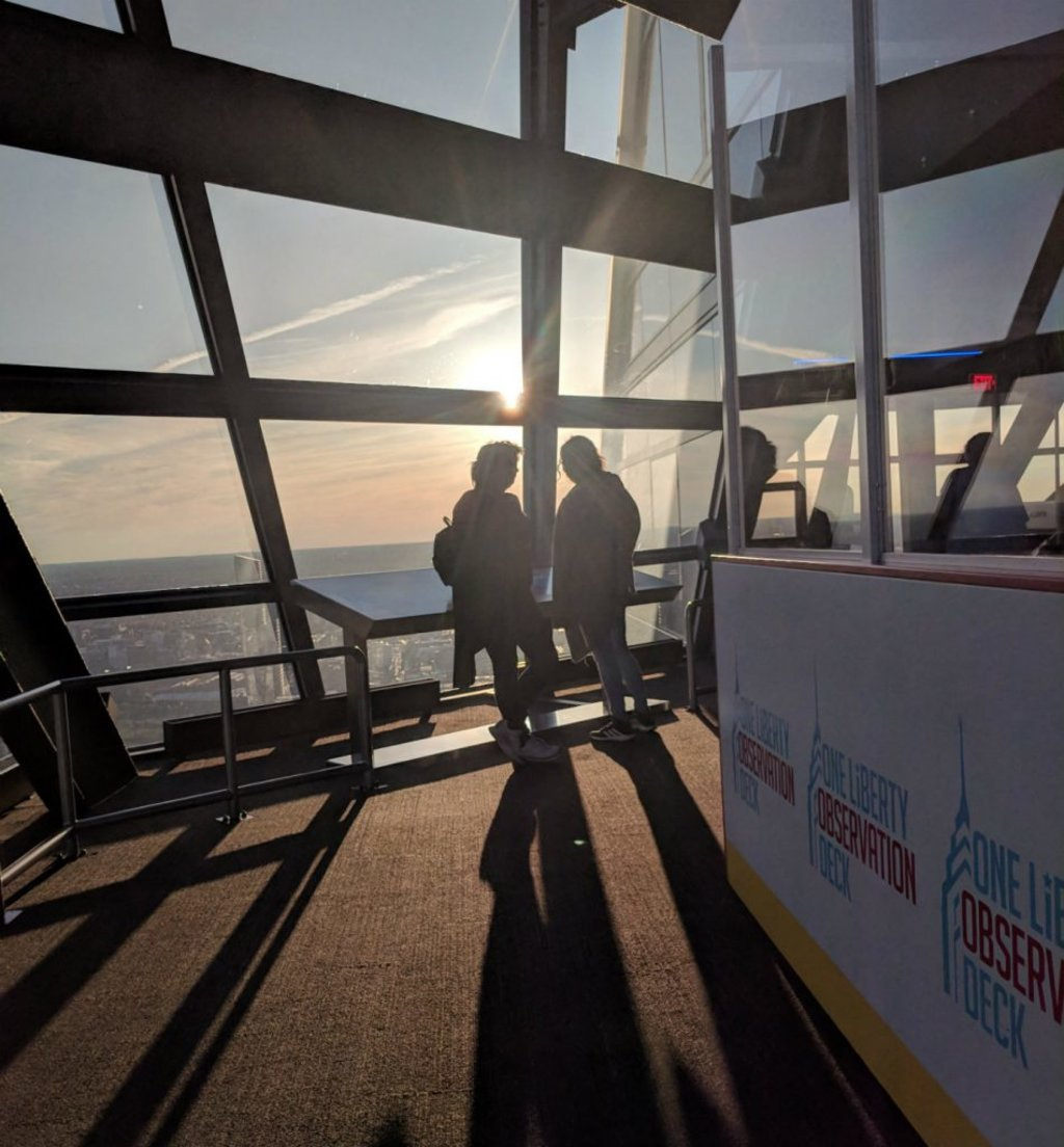 One Liberty Observation Deck in Philadelphia