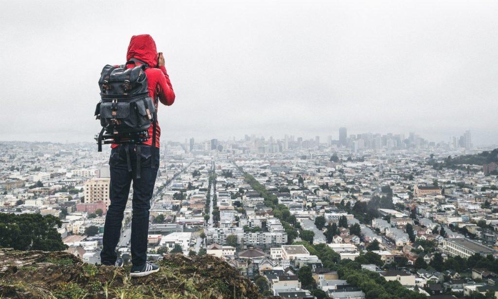 Alleinreisender in San Francisco