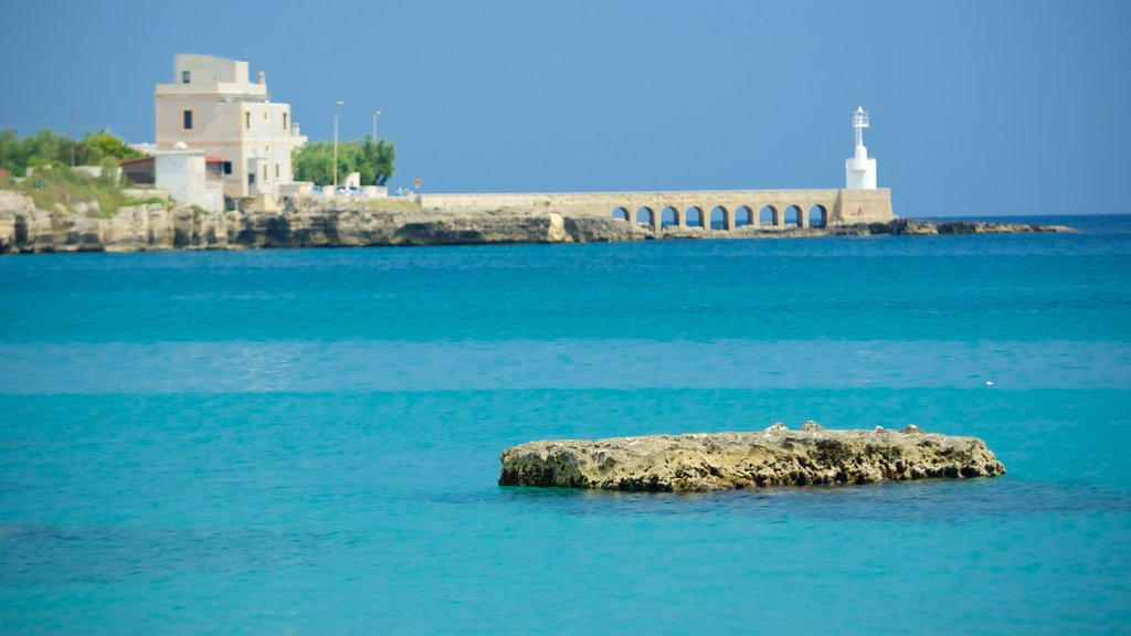 Otranto Waterfront featuring general coastal views