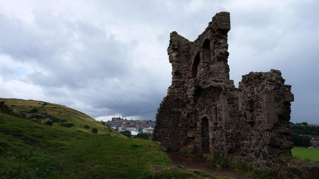 Ruinen in Edinburgh