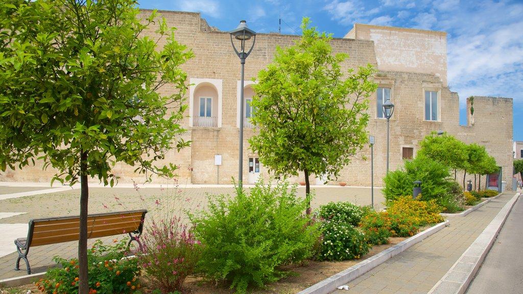 Lecce featuring a garden